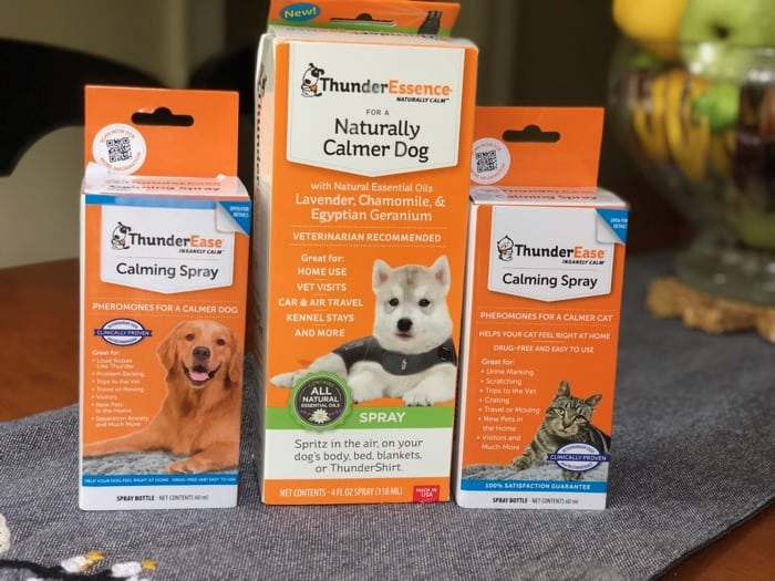 thunderworks dog calming spray