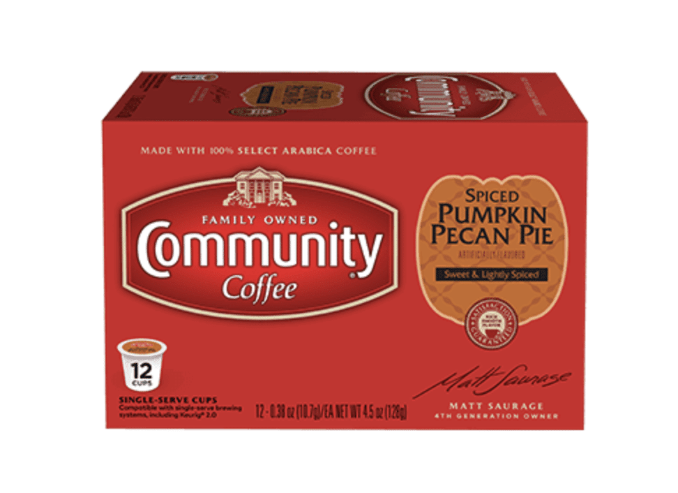 pumpkin pie coffee