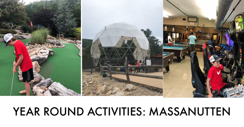 YEAR ROUND activities at massanutten