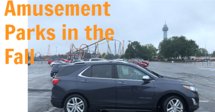 What Amusement Parks Have to Offer in The Fall