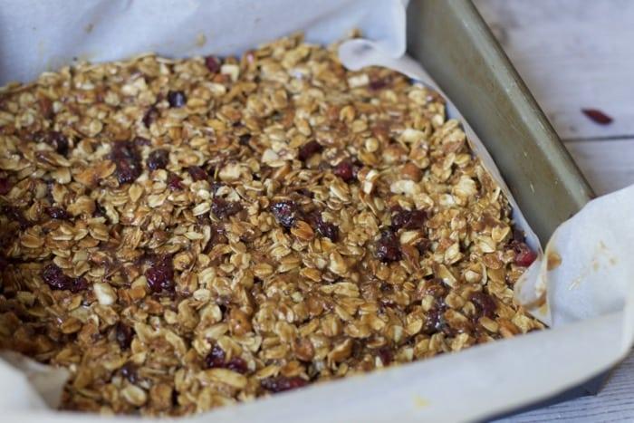 memade chewy granola bars