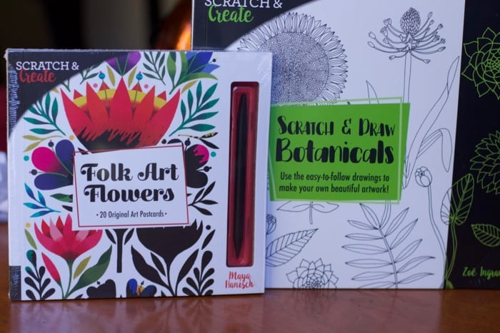 Gifts for teens scratch and create