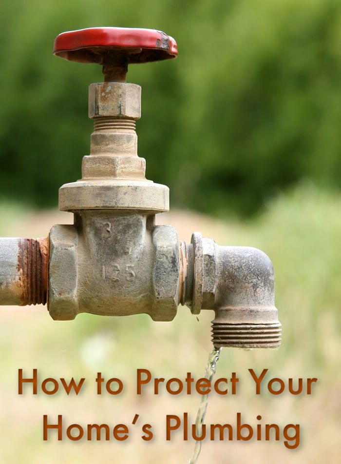 How to Protect Your Home's Plumbing