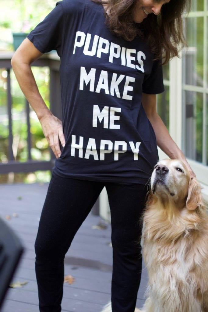 puppies make make me happy