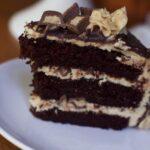Peanut butter Chocolate Cake Recipe Reeses peanut butter cup cake 1