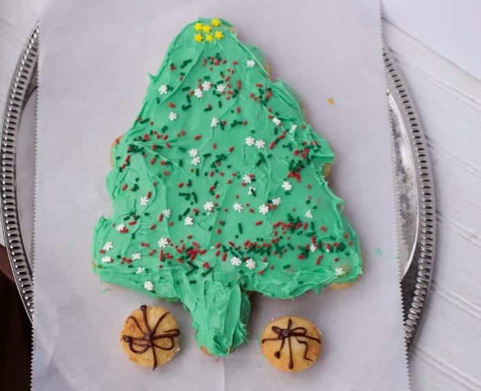 Little Bites Christmas Tree Cupcake
