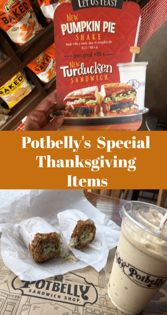 Satisfy your Thanksgiving Cravings with Potbelly's Latest Limited Time menu items