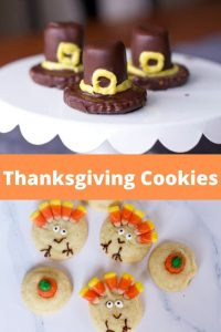 Sugar Cookie Turkeys