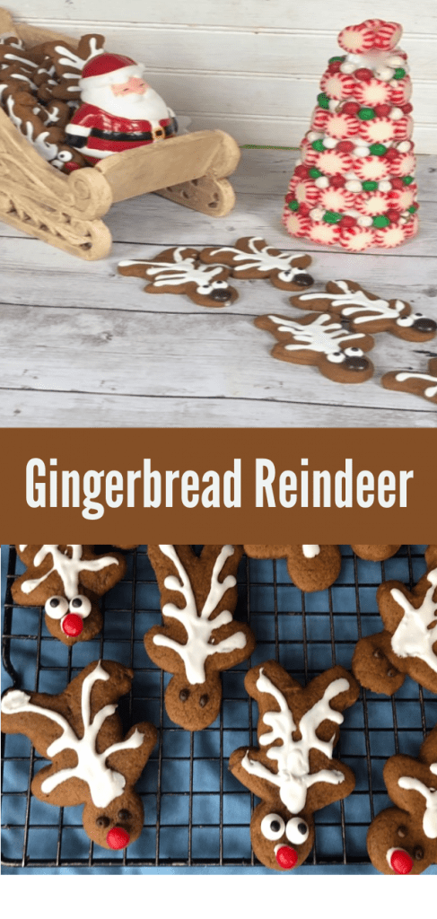 gingerbread reindeer Recipe