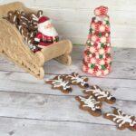 Festive Gingerbread Reindeer Cookies