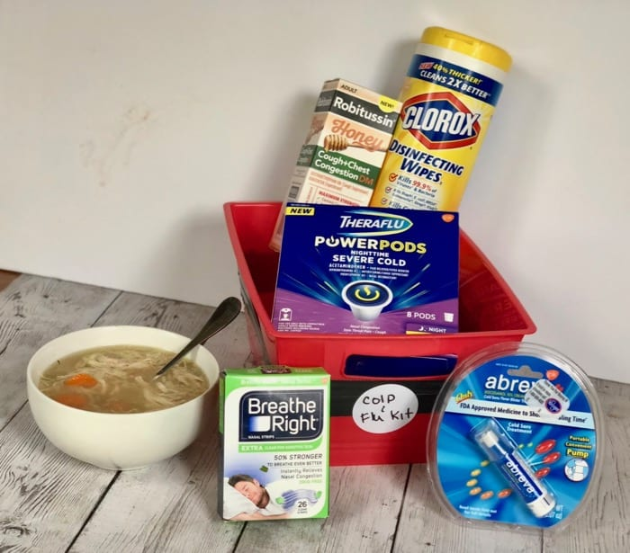 stock up your cabinet and freezer for cold and flu 1