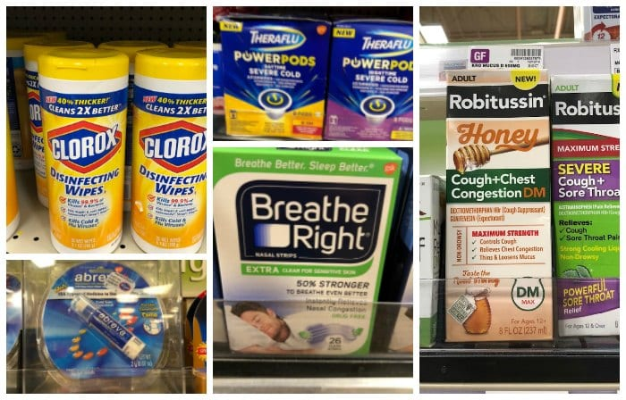 stock your cabinet for cold and flu season