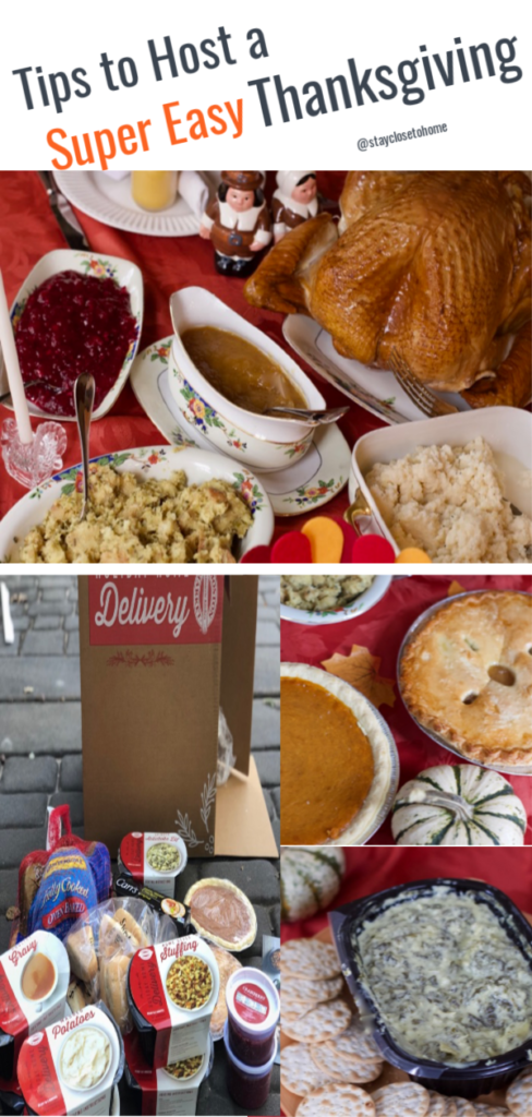 tips to host an easy Thanksgiving Dinner Party
