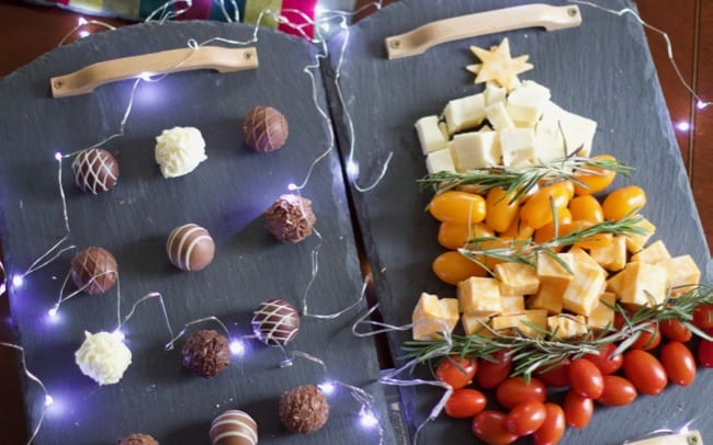Christmas tree Cheese plate Amazon PRime NOW 2