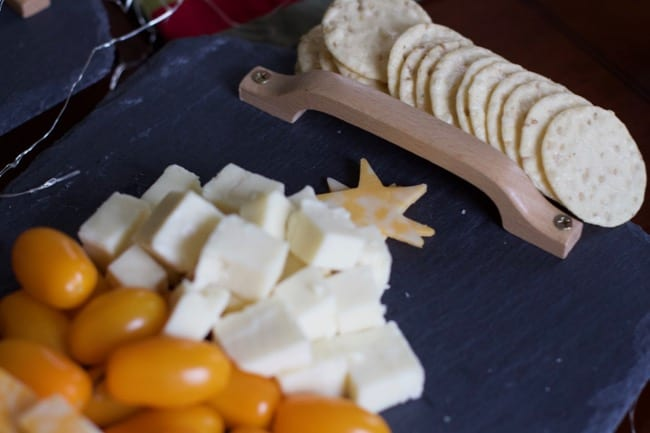 Christmas tree Cheese plate Amazon PRime NOW 9in
