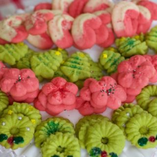 How to make spritz cookies