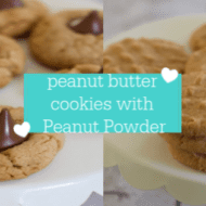 Protein Packed Peanut Butter Cookies With Peanut Powder (PB2 recipes)