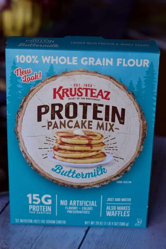 High Protein Mini Sausage Pancake Bites Recipe Krusteaz