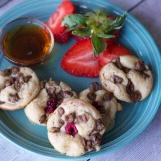 High Protein Mini Sausage Pancake Bites Recipe