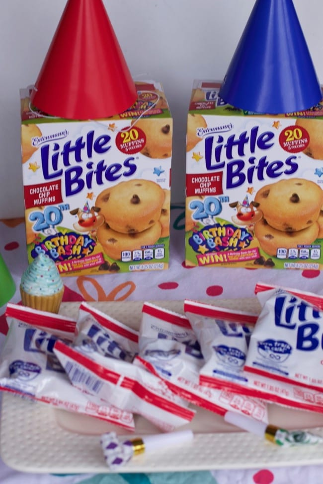 Little bites Birthday Bash Sweepstakes