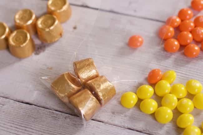 Skittles St Patrick Day Rainbow Treat Bag