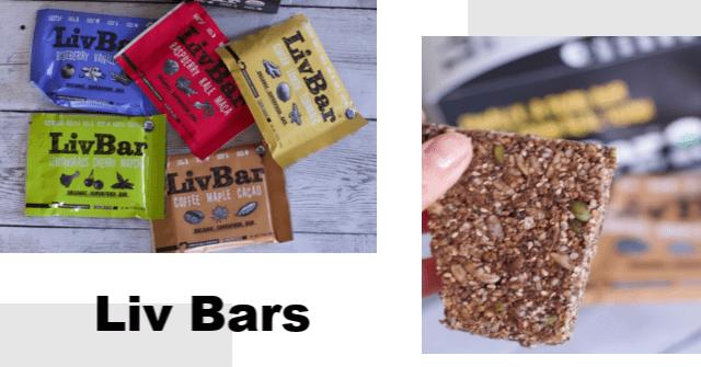 Liv Bars Dairy Free Granola Bars