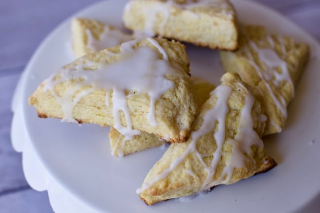 Super Easy Mini Lemon Scones Recipe