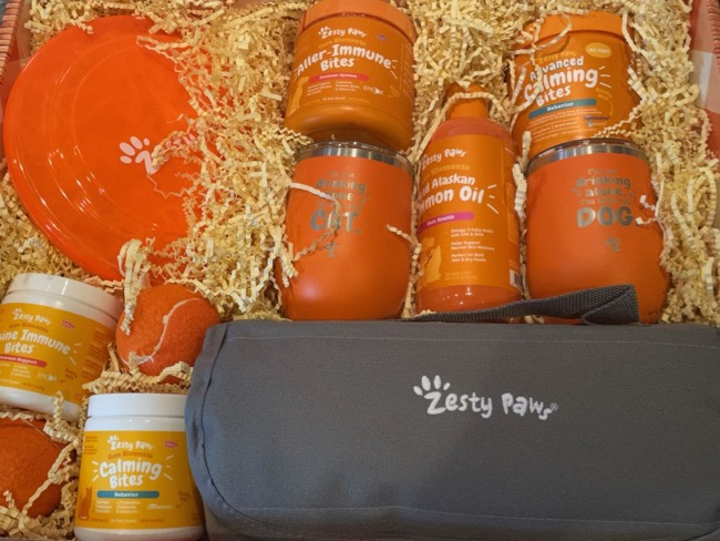 zesty paws products for spring
