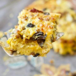 Keto Friendly Breakfast Casserole - Low Carb Brunch Recipe