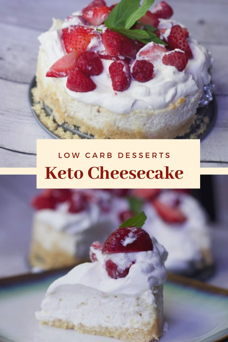 Keto Cheesecake low carb dessert