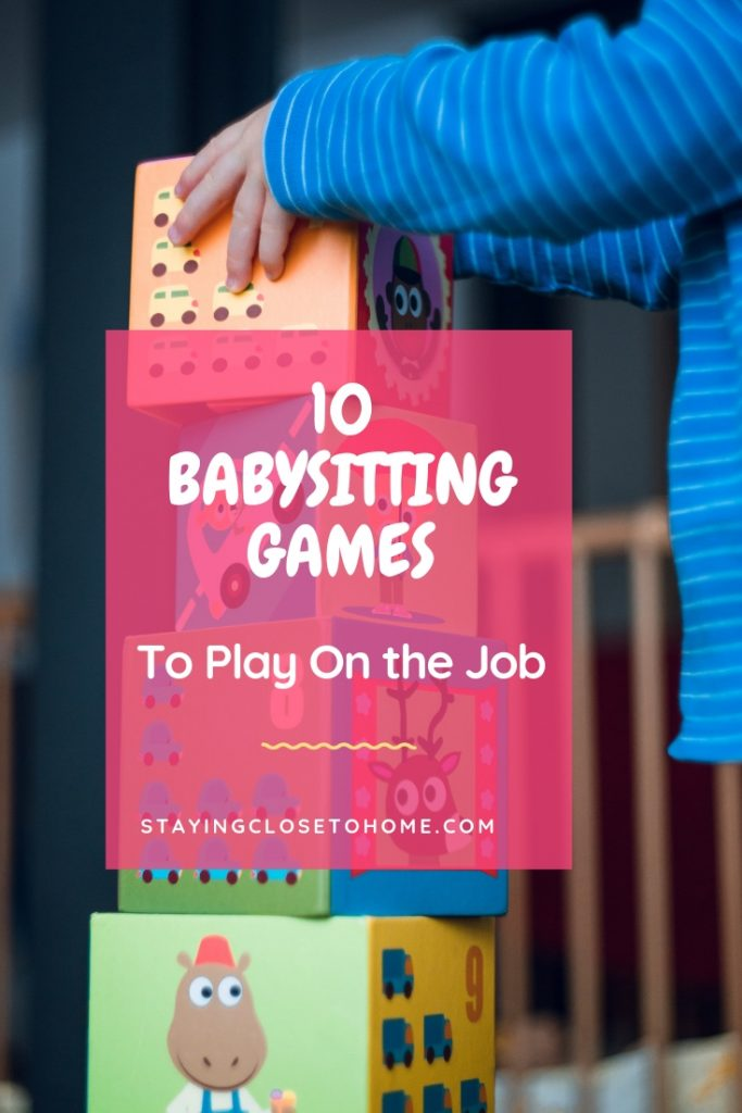 games to play on babysitting jobs