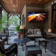 Best Outdoor Television for Outdoor Living Space