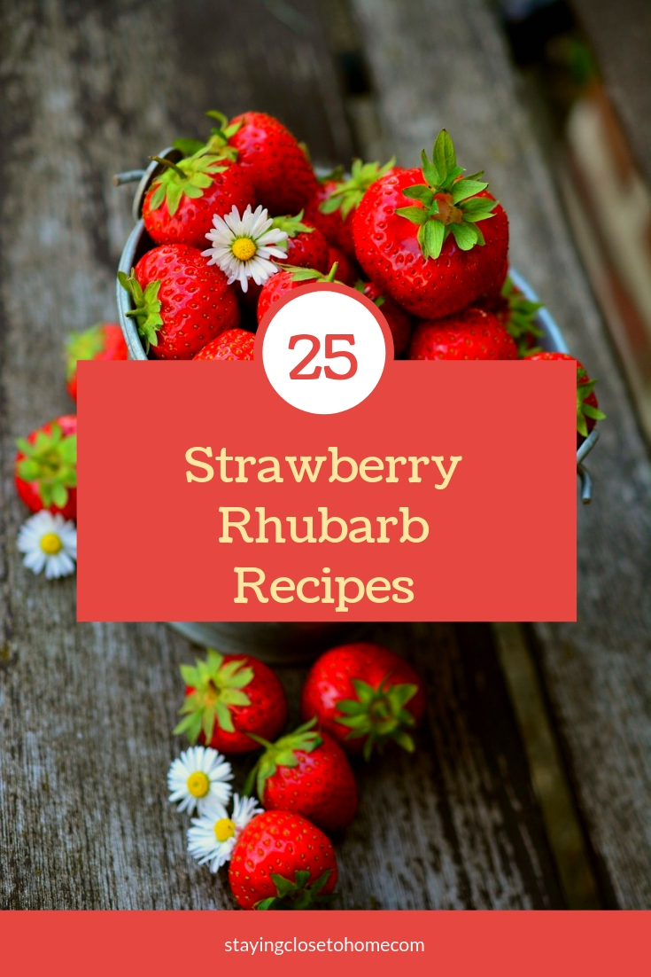 25 Sweet & Savory Strawberry Rhubarb Recipes