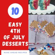 10 Easy 4th of July Desserts Ideas
