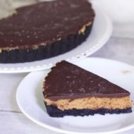 Decadent Peanut Butter Chocolate Ganache Tart