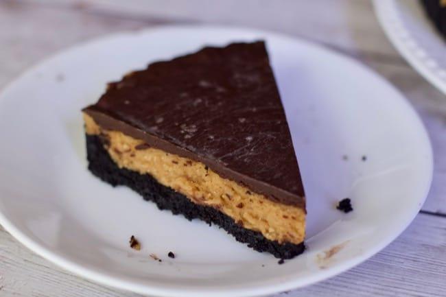 Peanut Butter Chocolate Ganache Tart
