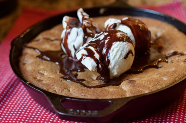 Chocolate Chip Skillet Cookie or Pizookie Recipe