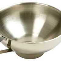 Norpro Stainless Steel Wide-Mouth Funnel w/ Handle