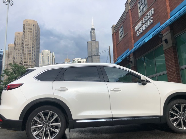 best suv for families in big cities Mazda CX-9