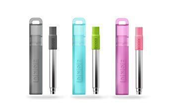 Zoku Reusable Pocket Straw, Set of 3