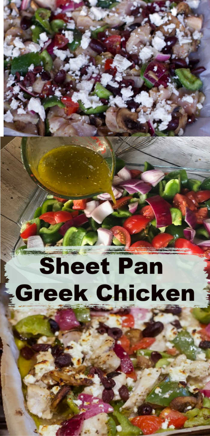 Sheet Pan Greek Chicken