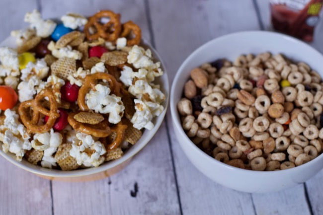 Snack Mix recipes back to school snacks