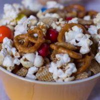 SWEET AND SALTY POPCORN SNACK MIX RECIPE