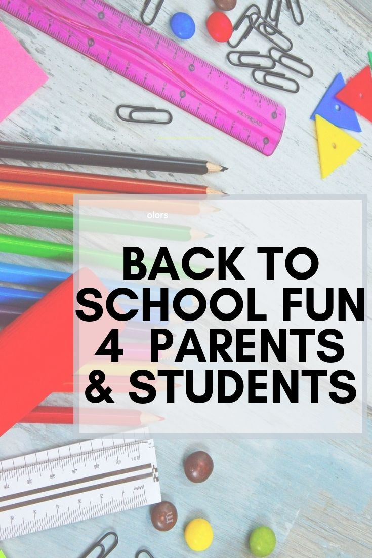 BACK TO SCHOOL MUST HAVES FRO PARENTS AND STUDENTS