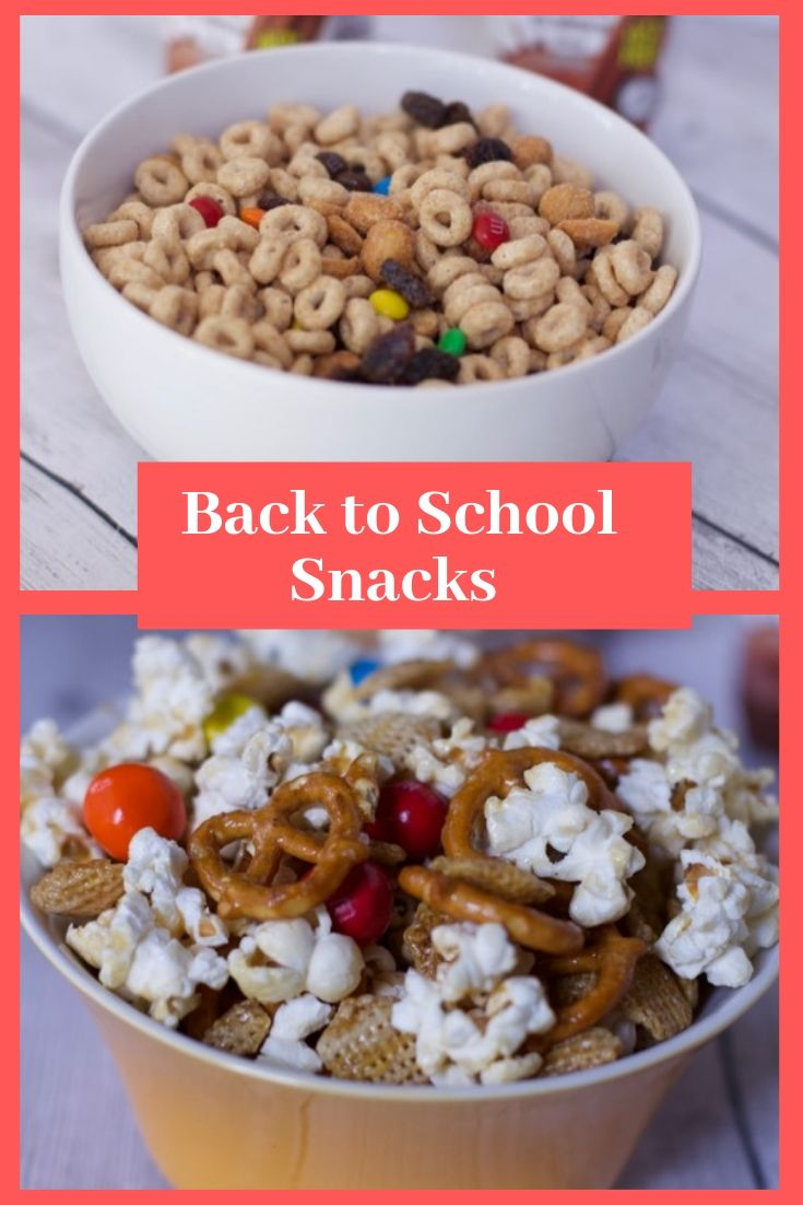 Two Snack Mix Recipes for Back To School