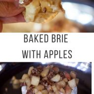 Baked Brie Recipe with Apples