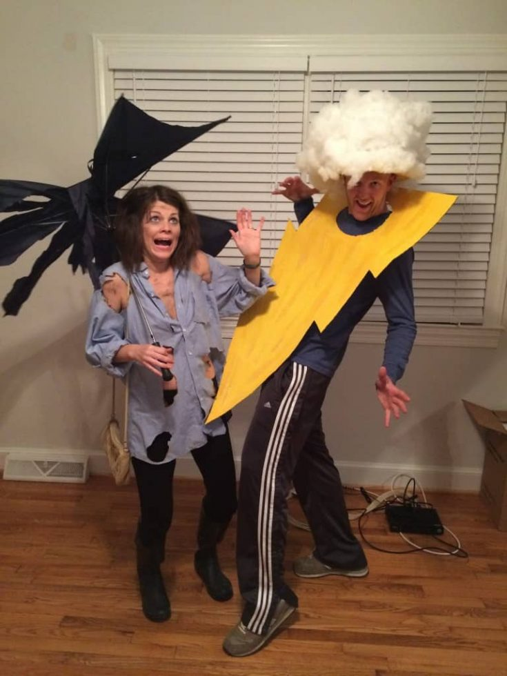 Lightning Bolt & Strike Victim and Other Halloween Shenanigans