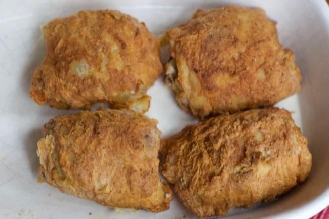 The Best Air Fried Chicken Recipe (Fried Chicken Thighs)