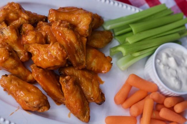 air fryer chicken wings buffalo style