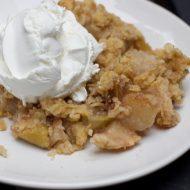 Super Easy Apple Crisp Recipe